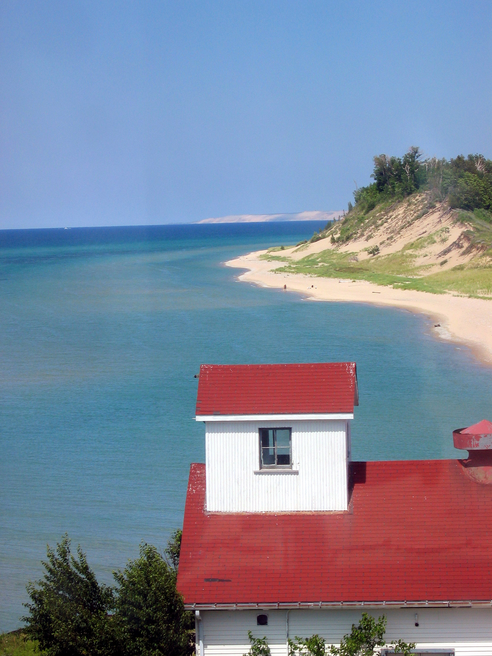 View from Betsie Point Lighthouse