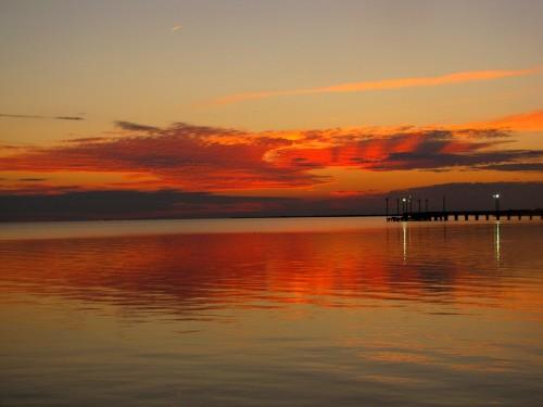 Palacios Sunset