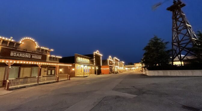 Frontier Cove at Night